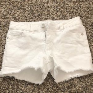 Other - white justice shorts